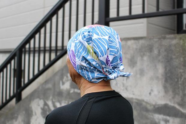 手拭いワークショップ「畳んで縫うだけ手拭い帽子」ご紹介 - ここち す ...